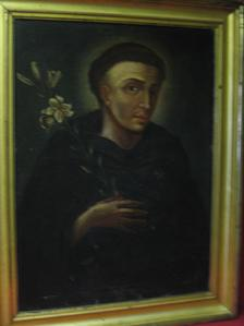 "2008483-0000  ""St. Anthony of Padua"" by  Unknown Artist at Antique Picture Frames, Ltd."