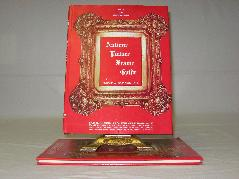 The Antique Picture Frame Guide published in 1973.  Antique Picture Frames, Ltd.  Established in 1965, we offer the largest and finest selection of original and restored antique picture frames in the Midwest to the general public.  www.antiquepictureframesltd.com