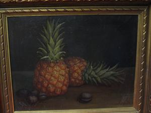 "2008489-0000 ""Pineapples & Plums by S. Hayata at Antique Picture Frames, Ltd."