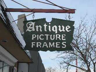 Antique Picture Frames, Ltd.  Established in 1965, we offer the largest and finest selectiion of original and restored antique picture frames in the Midwest to the general public.   www.antiquepictureframesltd.com