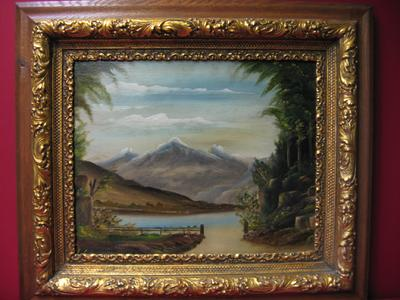"2008476-0000  ""Francisco Peaks - Flagstaff, Arizona by R. C. Brown, American Indian at Antique Picture Frames, Ltd."