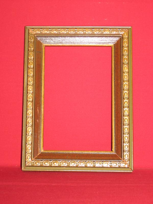 158e10bb8721 ... reed barton gold accent frames watchband 4 x 6 frame. Antique Picture  Frames Ltd